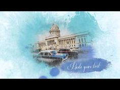 After Effects Template-Watercolor Slideshow videohive.net