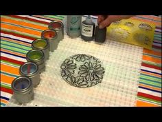 ▶ Fused Glass Tie Dye Flower - YouTube
