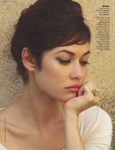 updo that looks like a pixie!!! So I can fake it without cutting it =)