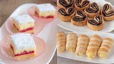 TRE DOLCETTI DI PASTA SFOGLIA Italian Desserts, Biscotti, Oreo, Cheesecake, Deserts, Yummy Food, Cookies, Recipes, Mudpie