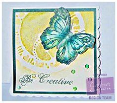 Dream Laine - Sheena Douglass stamp - Spectrum Noir Sparkle pens - #crafterscompanion #spectrumnoir