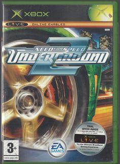 XBOX Need for Speed Underground 2  retro