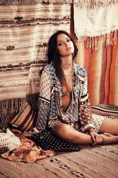Bohemian Beauty: Gypsy Chic #johnnywas
