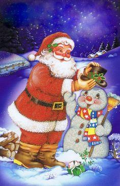 <3 Weihnachts und Schneemann <3