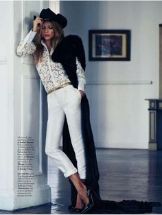 Masha Novoselova – Elle Magazine (January 2013)