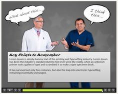 eLearning Example: Captivate Medical Course - eLearning Brothers