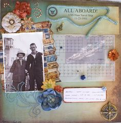ALL ABOARD! - Scrapbook.com