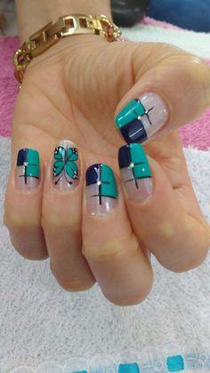 Cute Nails, Pretty Nails, Nail Tutorials, Nail Designs, Hair Beauty, Lily, Make Up, Nail Art, Nail Design