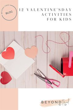 A roundup of some really cute, easy DIY Valentine's Day activities for toddlers and preschool kids to make at home or school Creative Activities, Toddler Activities, Pallet Painting, Diy Valentine, Valentines Day Activities, Craft Box, Love You More, Crafts To Do