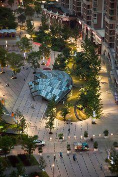 Gubei Pedestrian Promenade, Shanghai CHINA