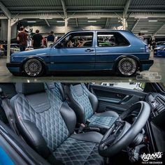 Volkswagen – One Stop Classic Car News & Tips Volkswagen Golf Mk1, Vw Mk1, Vw Scirocco, Vw Passat, Supercars, Automotive Upholstery, Golf 2, Modified Cars, Dream Cars