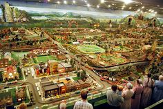 Recently celebrating its 80th birthday, Roadside America is the world's largest miniature village and one of the most unique tourist attractions in the nation. Featuring an over 6,000 square foot miniature display with over 300 structures, the attraction provides a glimpse into a 200 year window of Rural America. The intricate detail and historic significance must be seen to be believed.