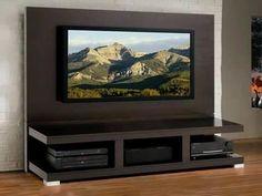 Ideas para decorar el area de tv (25)