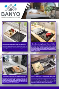 Banyo offers a wide range of high-quality kitchen sinks with affordable prices and fast delivery in the UK. Blanco Kitchen Sinks, Kitchen Taps, New Kitchen, Kitchen Appliances, Shaker Style, Quartz Countertops, Family Meals, Beautiful Homes