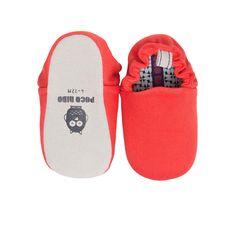 Plain Red Mini Shoes