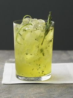 How does this Citron Lemongrass Cocktail sound after a hot summer day?