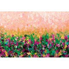 East Urban Home Nature's Living Room I Painting Print on Wrapped Canvas Size: