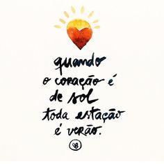 Bom dia!! Verão, a melhor estaçao do ano ☀️ . #giulicastro #pensatasdagiuli #quotesdagiuli