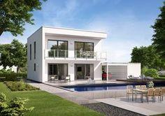 Bauhaus Novum P mit großzügigem Balkon und Panoramablick, denn Wohn- und Esszimmer befinden sich im Obergeschoss!