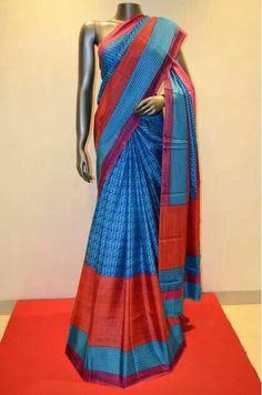 Pure printed silk