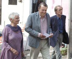 Judi Dench, Tom Wilkinson and Bill Nighy -- The Best Exotic Marigold Hotel