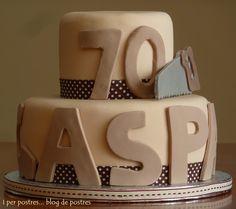Pastel d' aniversari de papa-70a