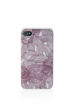iPhone case with all over Solstice floral print. 100% PC