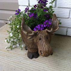 Canadian Moose planter