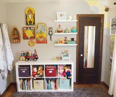 LIKE THE SHELVES BESIDE THE OTHER DECORE
