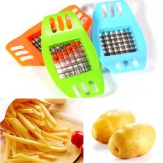 French Fries Maker French Fry Cutter Potato Strip Cutting Machine Tools 1PC in Home & Garden,Kitchen, Dining & Bar,Kitchen Tools & Gadgets | eBay