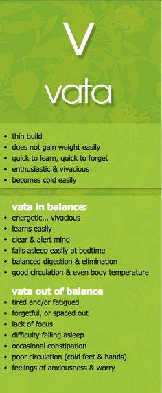 vata dosha in and out of balance #ayurveda #vpk #MaharishiAyurveda