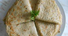 ciasto na naleśniki: - szklanka mąki pszennej - szklanka mąki owsianej ( mogą być mielone płatki) - sol, pieprz, - szczypta kurkumy...
