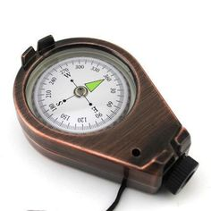 [Visit to Buy] All metal Outdoor navigation tools hardcover  Portable MINI compass #Advertisement