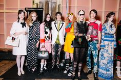 @gucci Cruise 2017   @backstageat   See more: http://bkstge.at/GucciResortVogue