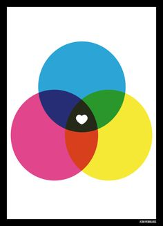 poster love colors