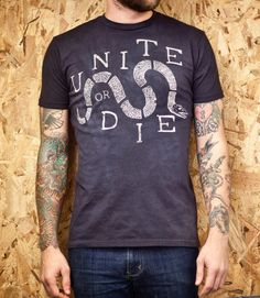 Unite or Die tee from CXXVI