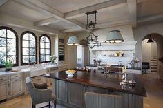 A Mediterranean kitchen designed by Jeffrey Alan Marks  #jeffreyalanmarks #JAM #Themeaningofhome