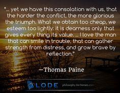 #consolation #value #strength #paine #philosophy #inspiring #quotation visit https://www.lode.de