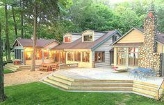 Sprawling Lake Michigan cottage