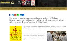 #bibgourmand #gastronomiacontemporânea Chef Guilherme Tse Candido | Ecully Gastronomia | Revista Gowhere Gastronomia |  Concurso Jovens Talentos | Setembro de 2016.