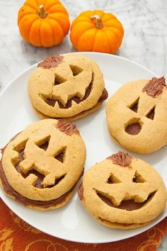 How To Make The Cutest Jack-O'-Lantern Cookies For Halloween