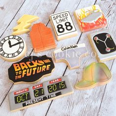 CJ's Cookie Co. - When your favorite movie is Back to the Future...