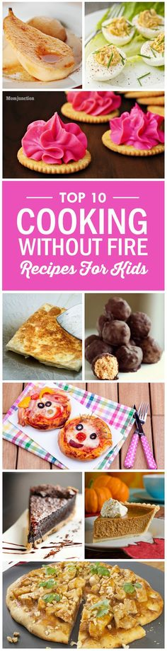 Top 10 Cooking Without Fire Recipes For Kids To Try Out