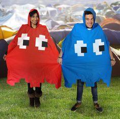 Retro Arcade Poncho – Pac-Man im Regen stehen lassen