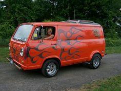 70's Chevy van
