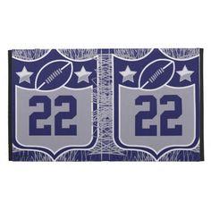 Team USA Sports Blue Silver Dallas Texas Football iPad Folio Cover