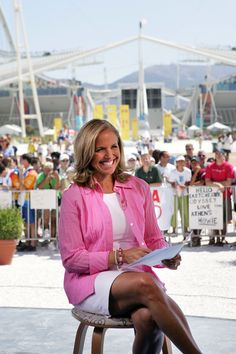 NBC announced Katie Couric will cohost the Opening Ceremony of the 2018 Winter Olympics in Pyeongchang, South Korea, with sportscaster Mike Tirico on February 2004 Olympics, 2018 Winter Olympics, Bob Costas, Cnn Money, Julia Louis Dreyfus, Katie Couric, Love Cover, Digital News, Slg