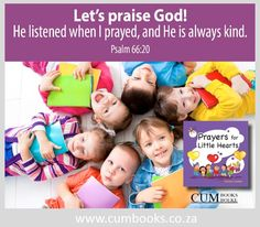 A wonderful way for parents to teach little ones how to start or end their day. Psalm 66, Christian Kids, Praise God, Our Kids, Winnie The Pooh, Little Ones, Christianity, Prayers, Parents
