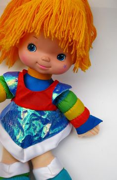 Rainbow Brite just for my 80's friends.  Got Sarah one to replace her original.  Love Rainbow Brite