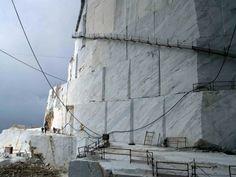 Bianco Carrara Marble quarry